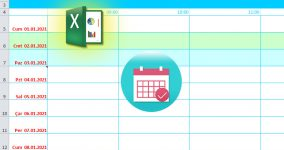 excel yearly planner calendar